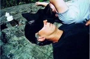 loving life on a hike